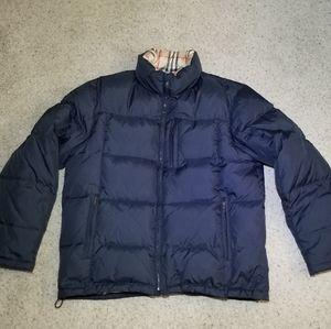 Burberry London puffer jacket mens sz L